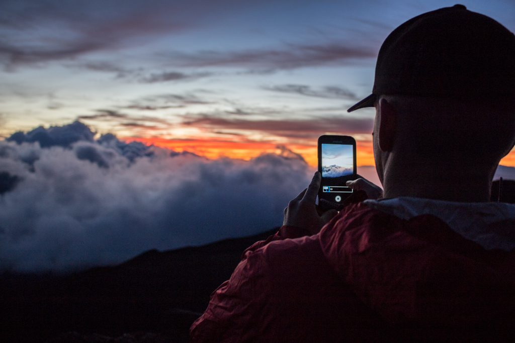 Summiting Haleakala for Sunrise, Maui, Hawaii