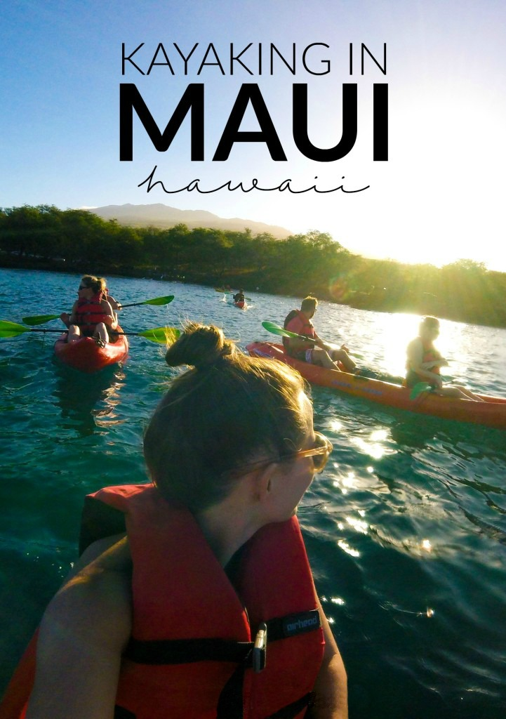Kayaking in Maui with Maui Kayak Adventures