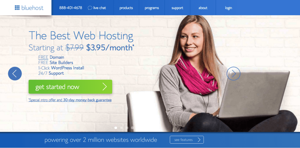 Create a Beautiful Blog - Web Hosting with Bluehost