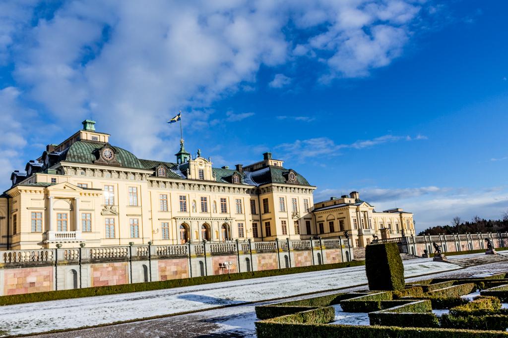 Sweden in Winter: Drottningholm Palace