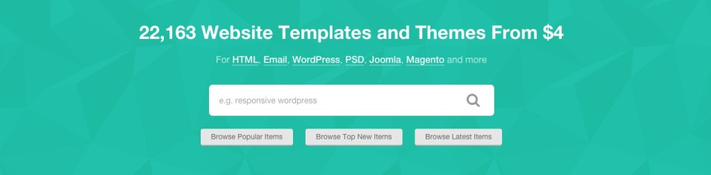 Theme Forest for WordPress Themes