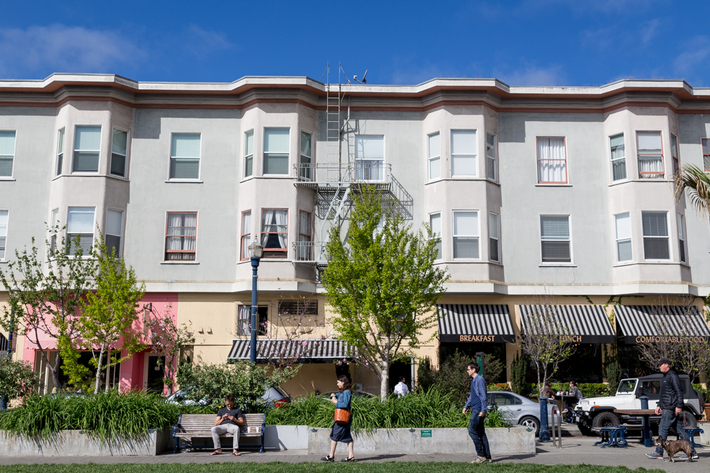 Patricia's Green, Hayes Valley, San Francisco