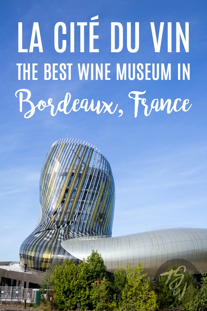 La Cité du Vin is Bordeaux's newest (and best!!) wine museum. Here's what you should know for your trip! It's a MUST see in Bordeaux, France!