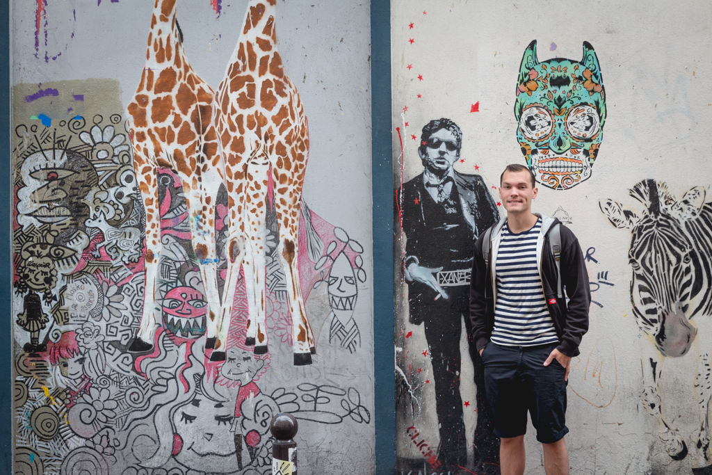 What to do with four days in Paris. Street art in the 17th Arrondissement.