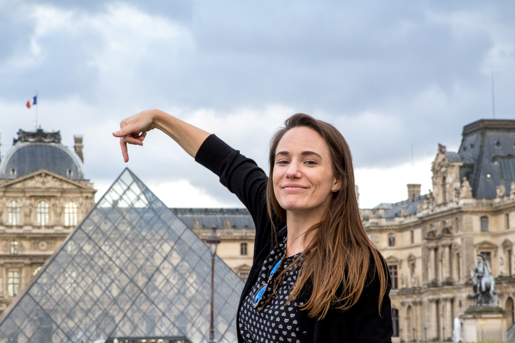 What to do with four days in Paris. Visit the Louvre Pyramid.