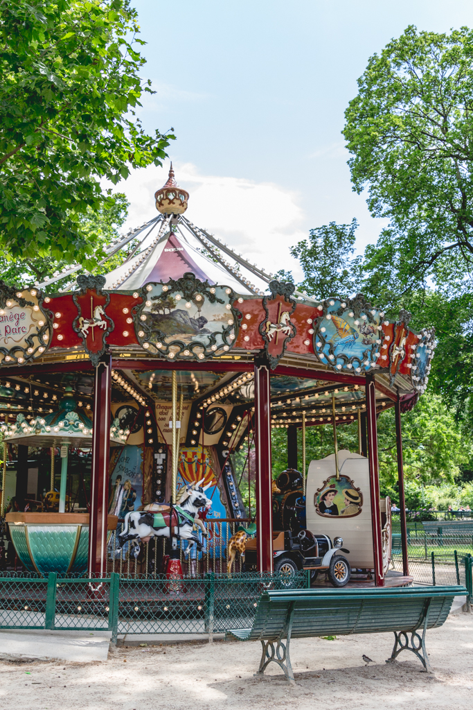 What to do with four days in Paris. Visit Parc Monceau!