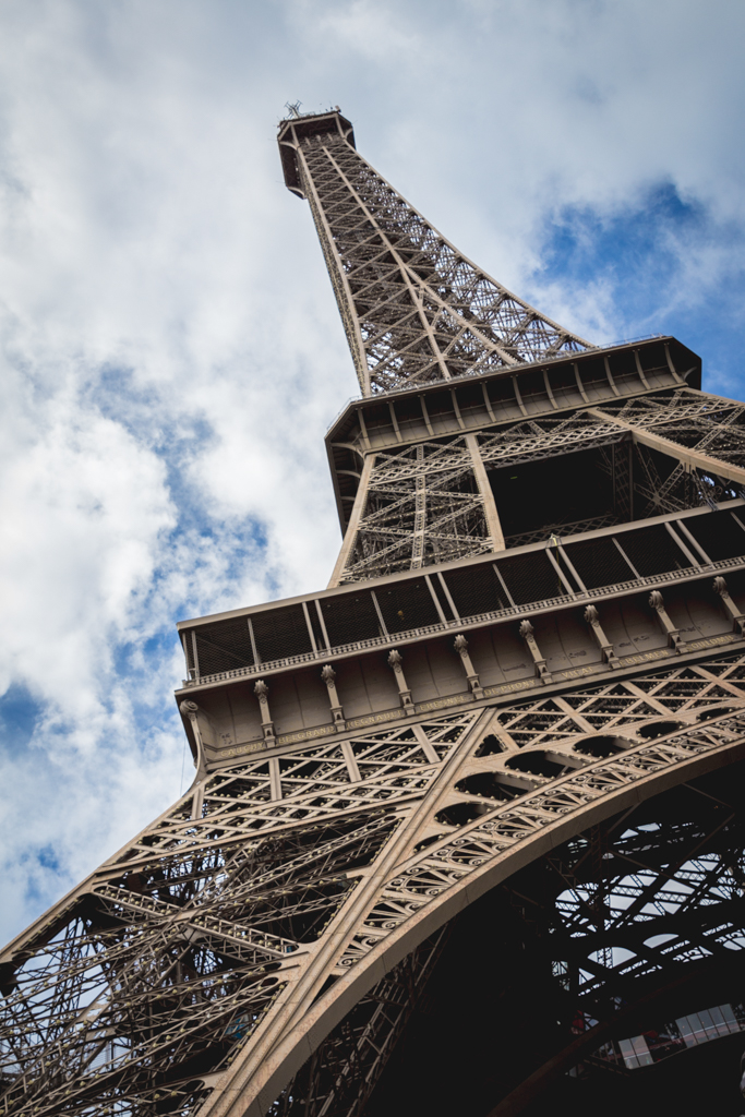 Paris in four days--visit the Eiffel Tower