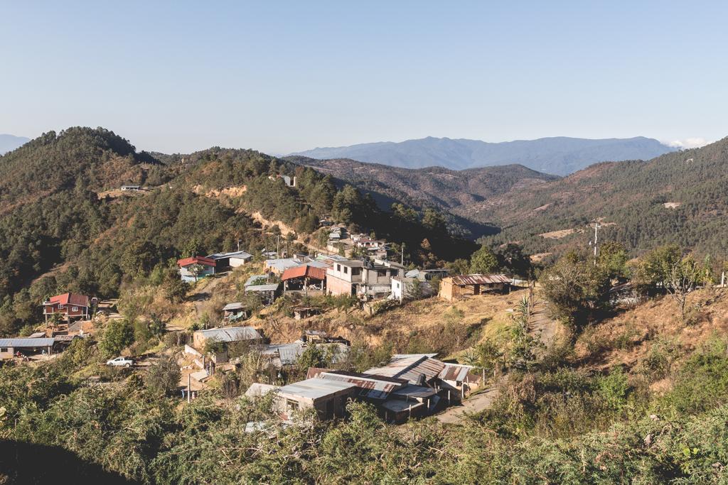 Los Pueblos Mancomunados: The village of Latuvi