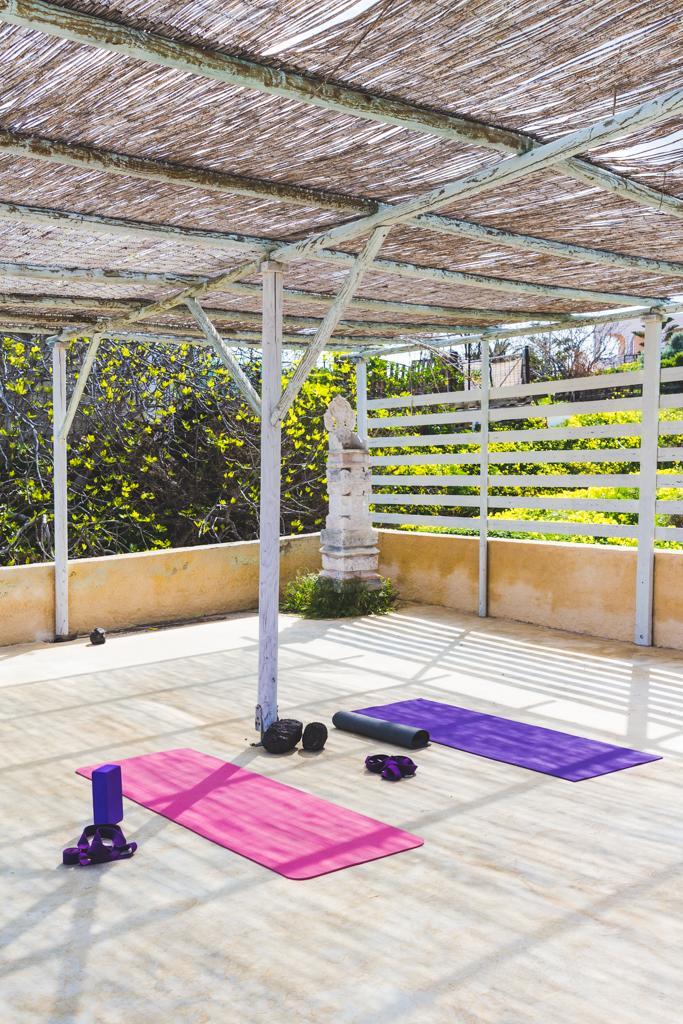 Yoga at Caveland Santorini