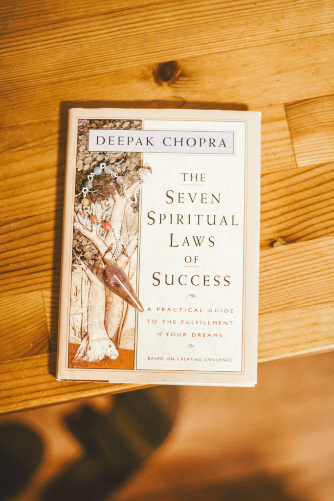 Quotes from The Seven Spiritual Laws of Success by Deepak Chopra