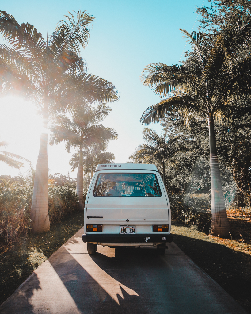Offbeat Maui Experiences: Camping in a Volkswagen Westfalia