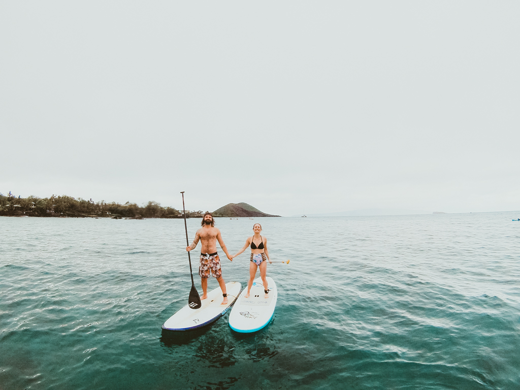 stand up paddle boarding in maui | maui sup lessons & tours
