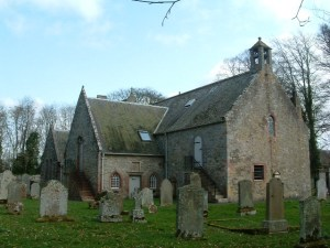 Bowden Church in the Borders.