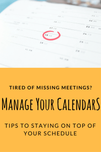 Managing share calendars, keep your family on the same page.