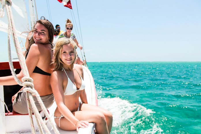 Raggamuffin snorkeling Caribbean Sea