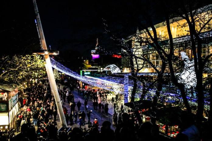 southbank centre christmas market london