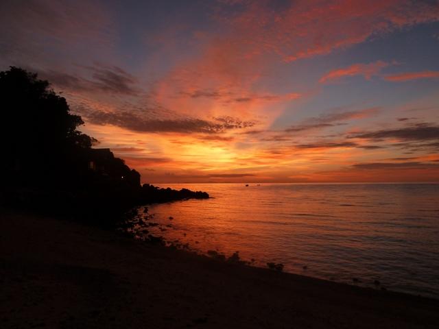 koh pha ngan sunset