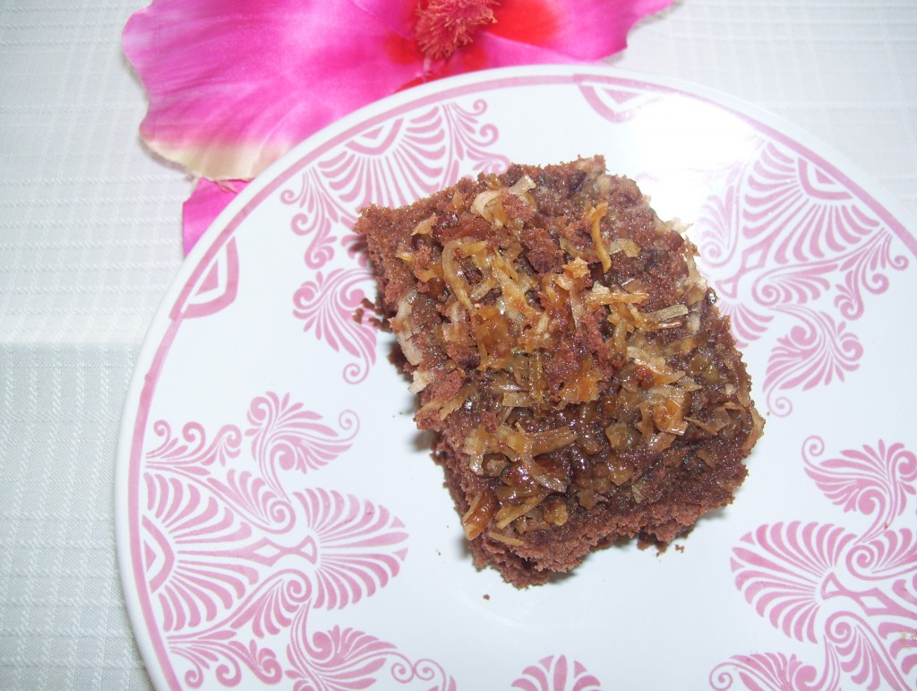 German Chocolate Cake Weight Watchers Points