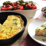 Let's Have Leftovers – Stuffing Frittata and Cranberry Orange Bars