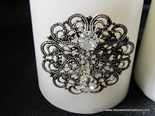 earring bling candles 2