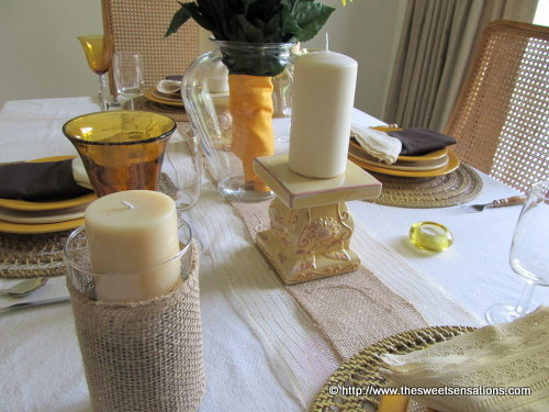 sunflowers and burlap 10