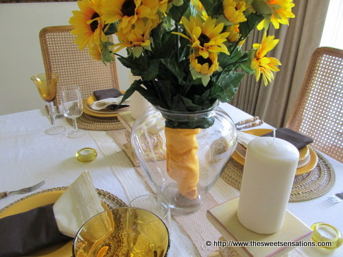 sunflowers and burlap 18
