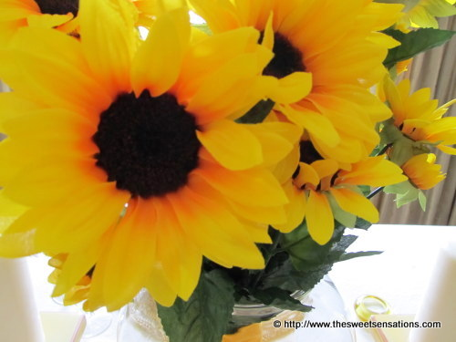 sunflowers and burlap 20