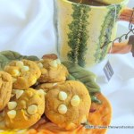Pumpkin White Chocolate Chip Cookies