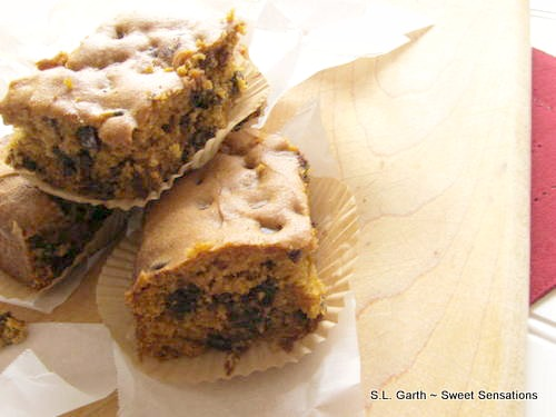 pumpkin blondies 5