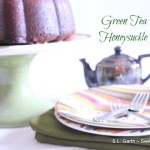 Green Tea Honeysuckle Cake ~ Cake Slice Bakers