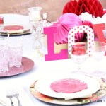 Love is in the Air Romantic Tablescape