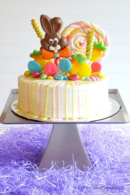 Easter Candy Drip Cake 14 Sweet Sensations