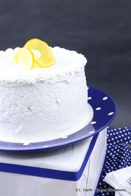 With a perfect balance of tart and sweet this Meyer Lemon Cake is made with oil for a lighter texture and rich taste.