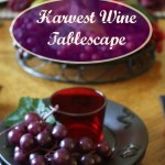 Harvest Wine Tablescape