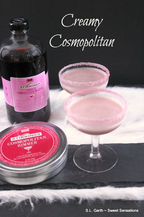 Try a Creamy Cosmopolitan for a warm and delicious twist on this popular cocktail.