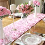Pretty in Pink Simple Chic Tablescape