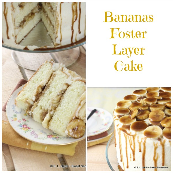 Decadent and rich, this Bananas Foster Cake is perfectly at home on a dessert table and worthy of an everyday celebration.
