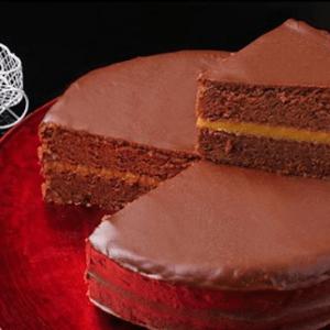 Torta de chocolate y manjar