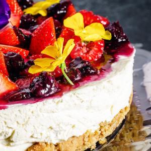 Cheesecake tradicional al horno