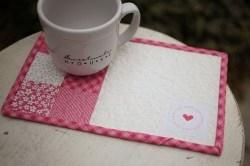 Heart Mug Mat
