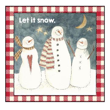 mom-snowman