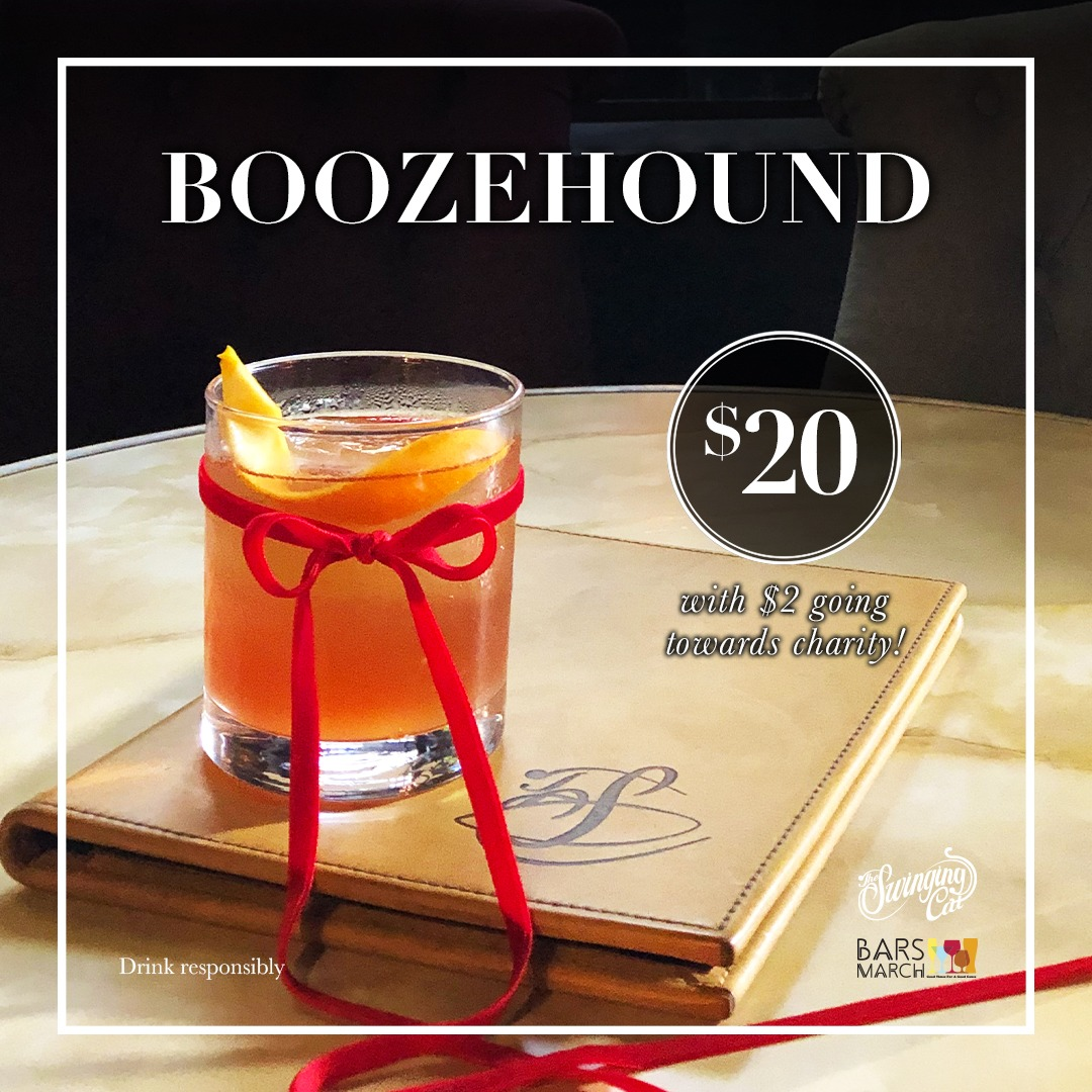 Barzs March Boozehound Cocktail of the Month February The Swinging Cat Sydney CBD Bar
