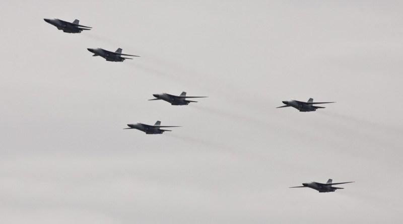 F-111 retirement six ship flypast