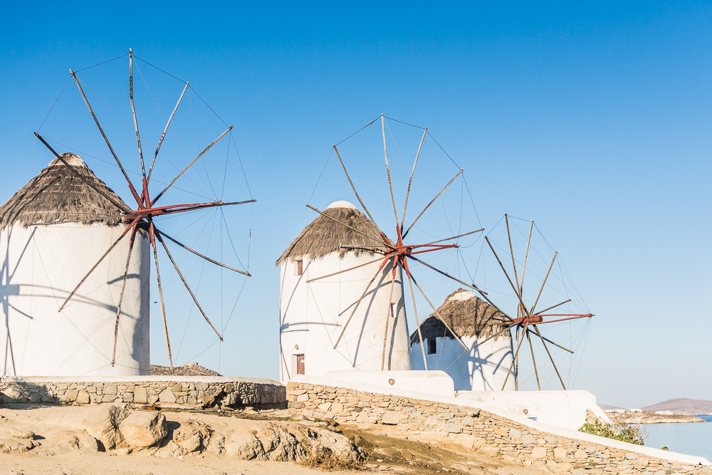 The Windmills in Mykonos Two