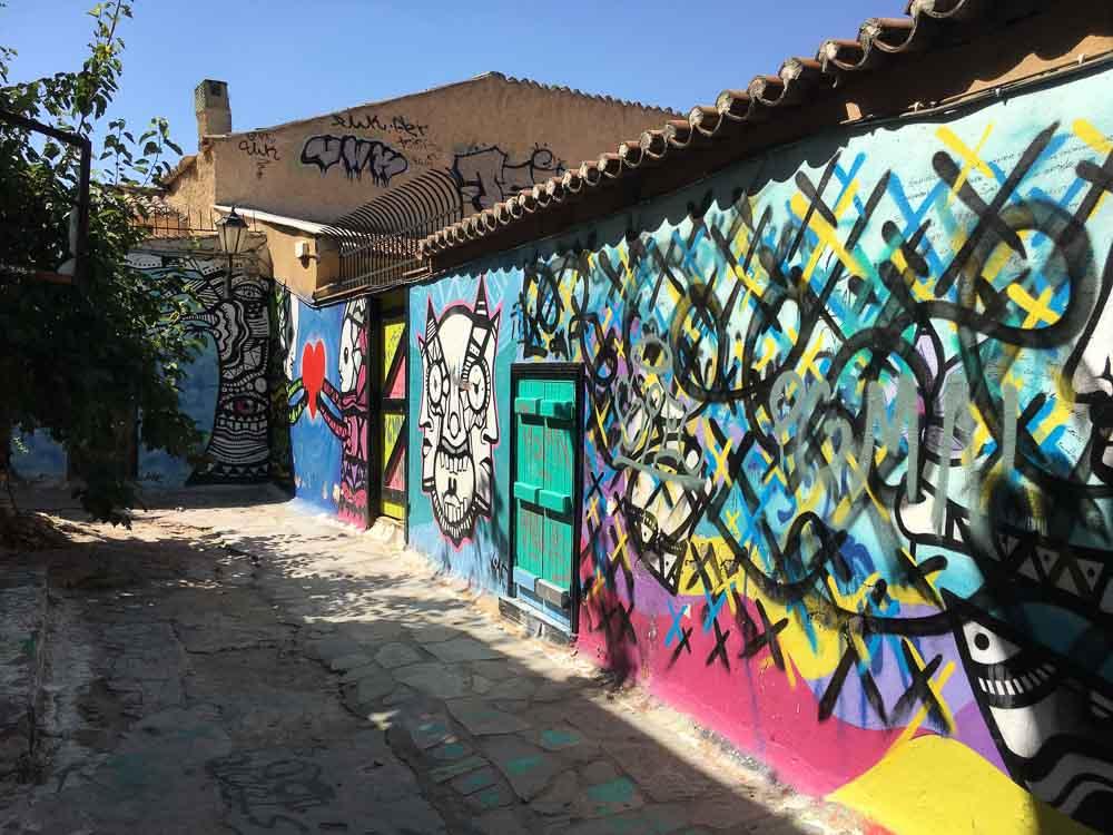 street art painting