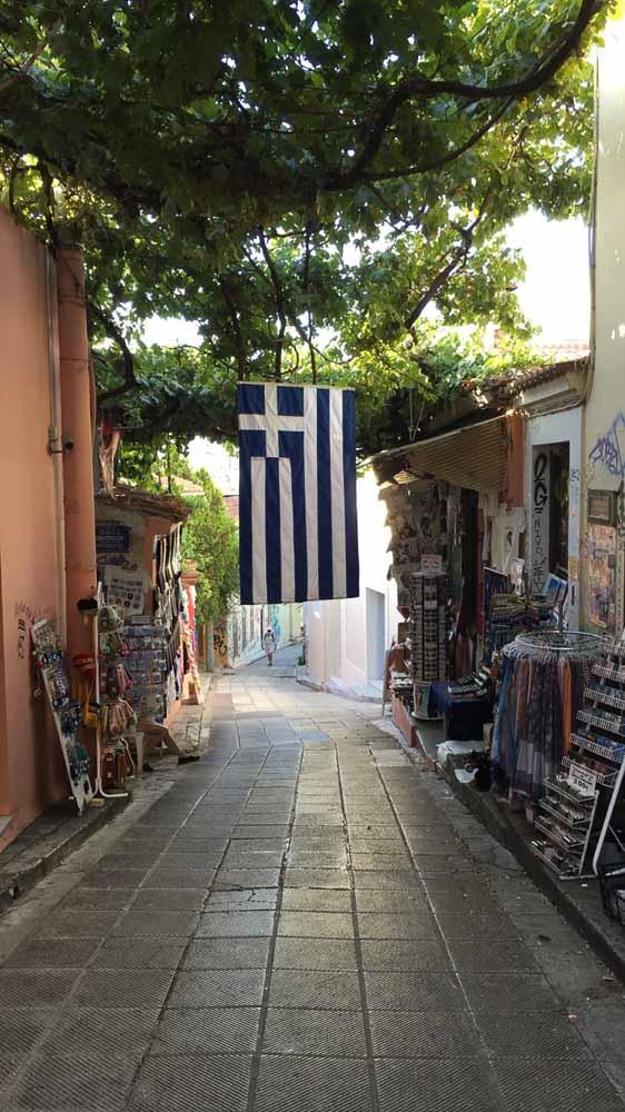 Alley in Plaka