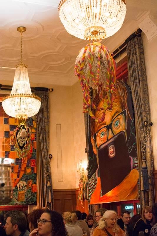 Fasnacht Themed Restaurant Decor