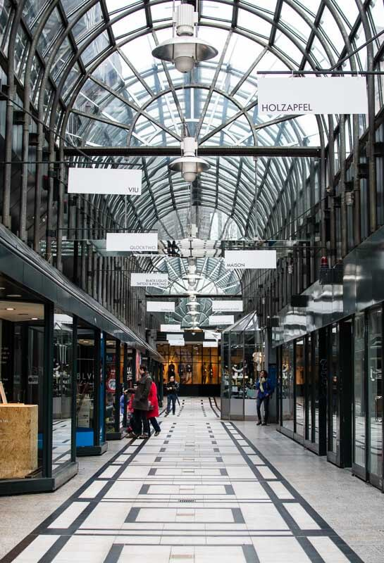 Mall in Stuttgart