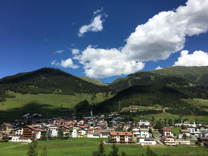 Small Village in Tyrol Austria