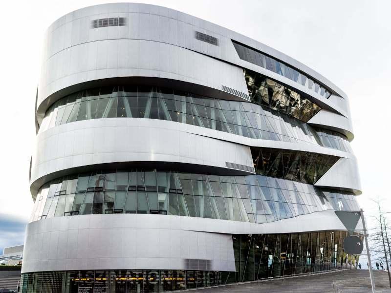 The Mercedes Benz Museum, Stuttgart